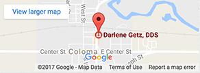 Map - Darlene Gentz