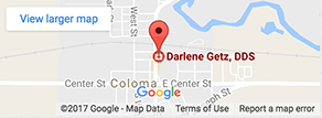 Map - Darlene Gentz